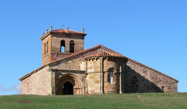 Iglesia de Villacantid - que ver en la Comarca de Campoo