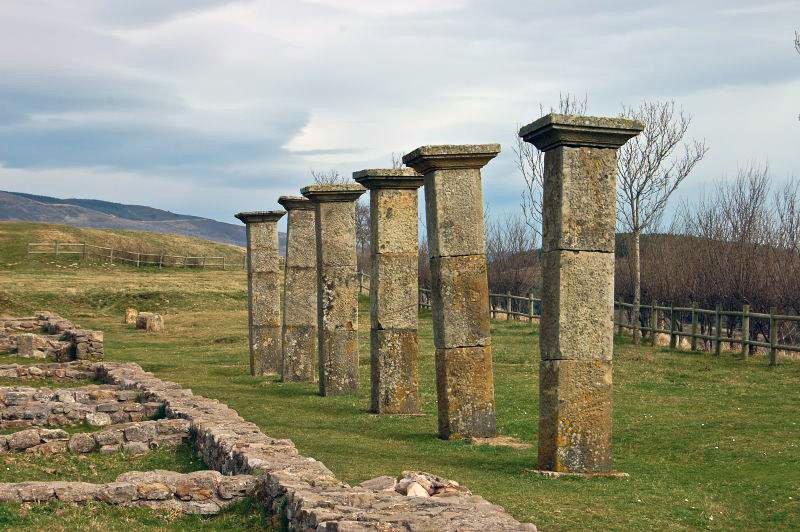 Yacimiento romano de Julióbriga - que ver en la Comarca de Campoo