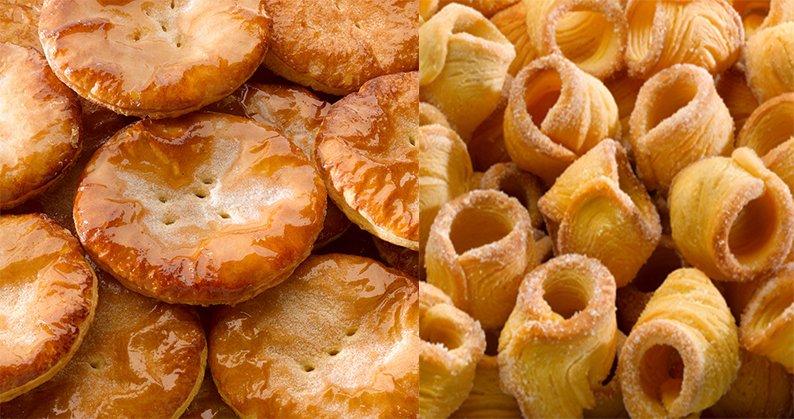 Rosquillas y pantortillas de Reinosa