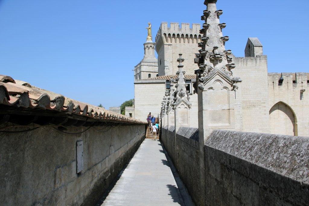 Azotea del palacio - Palacio de los Papas de Avignon