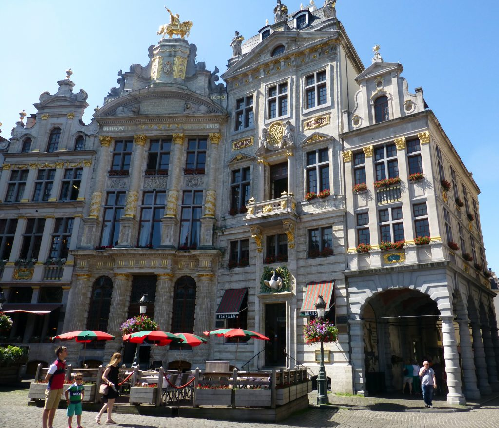 Café del cisne, Grand Place de Bruselas