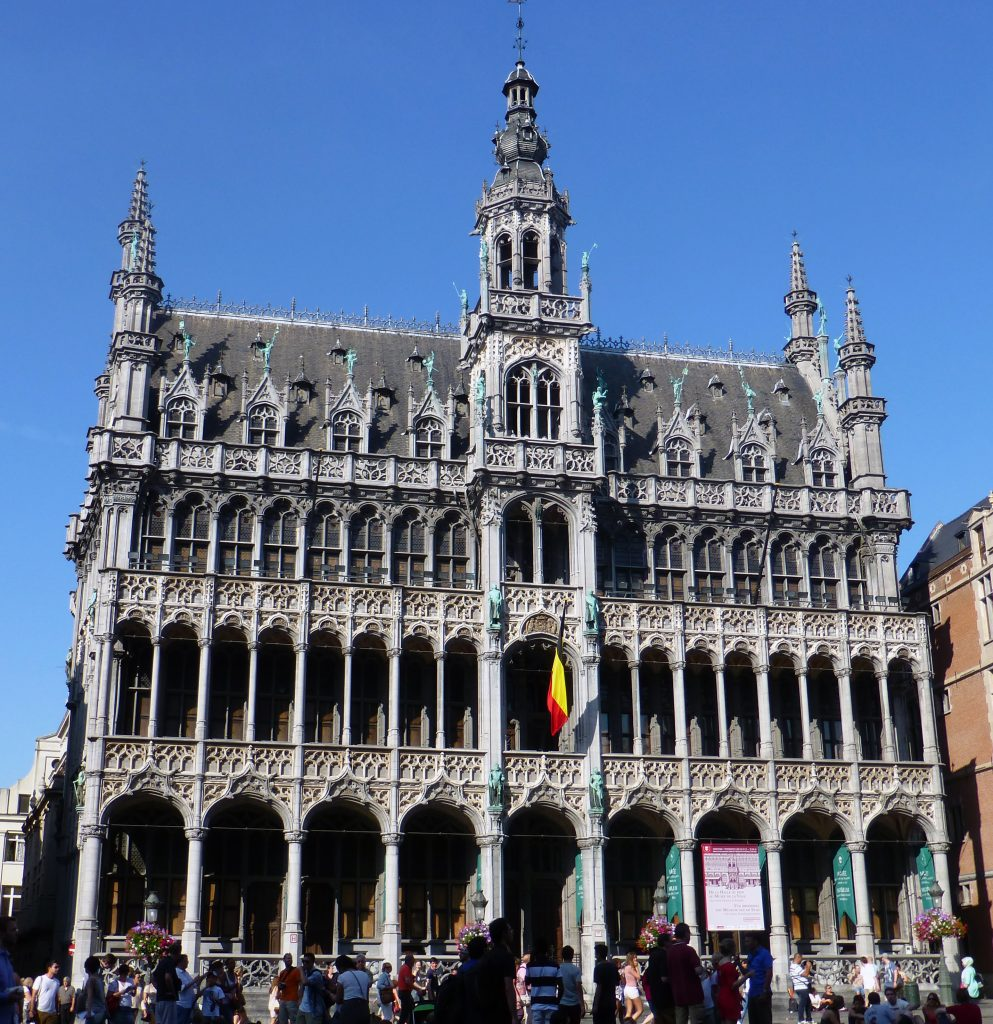 La Casa del Rey en la Grand Place de Bruselas