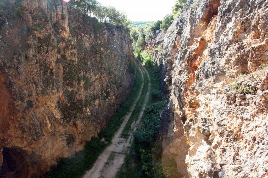 La Trinchera del Ferrocarril - visitar Atapuerca