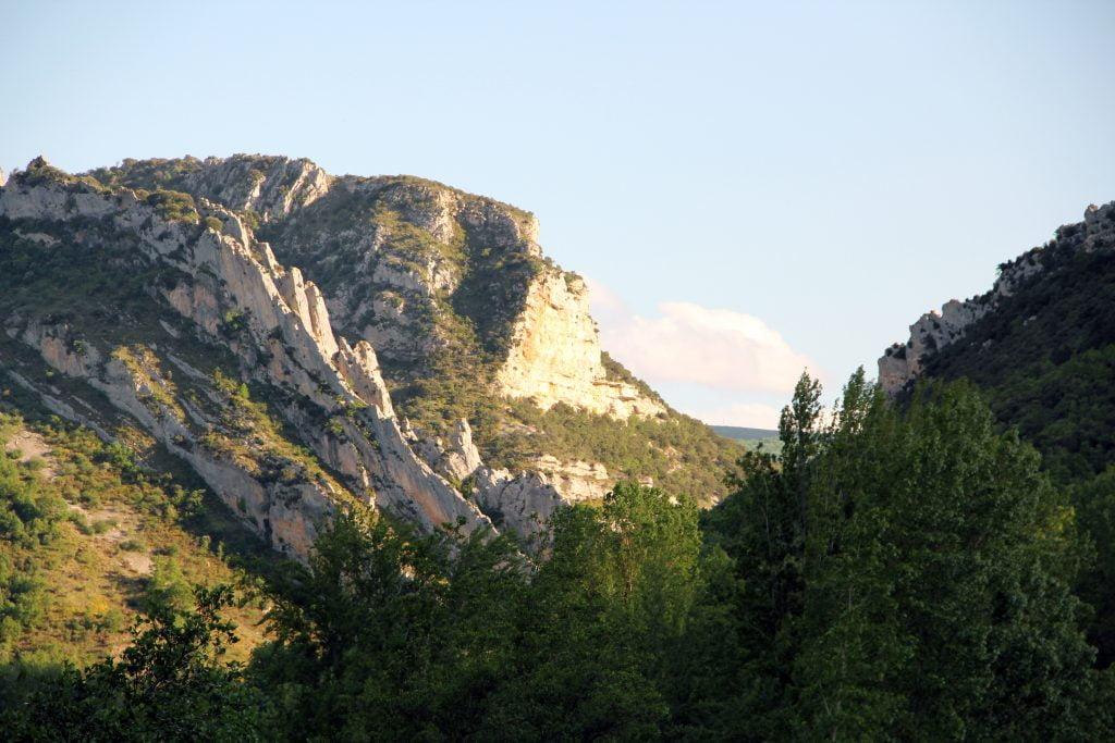 La cluse de Colina - ruta por el cañón del Alto Ebro en Burgos