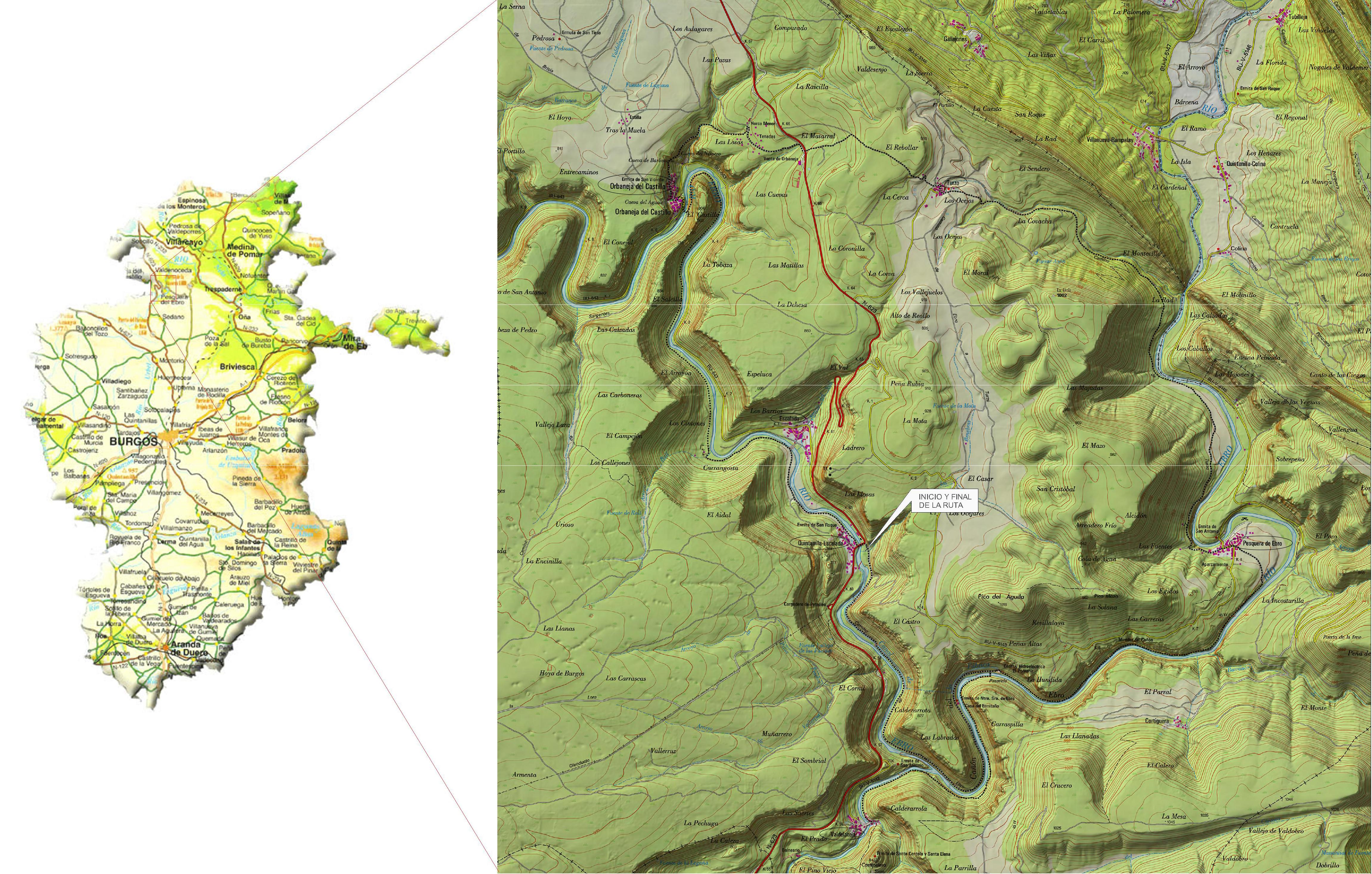 Ruta Alto Ebro Burgalés (I)