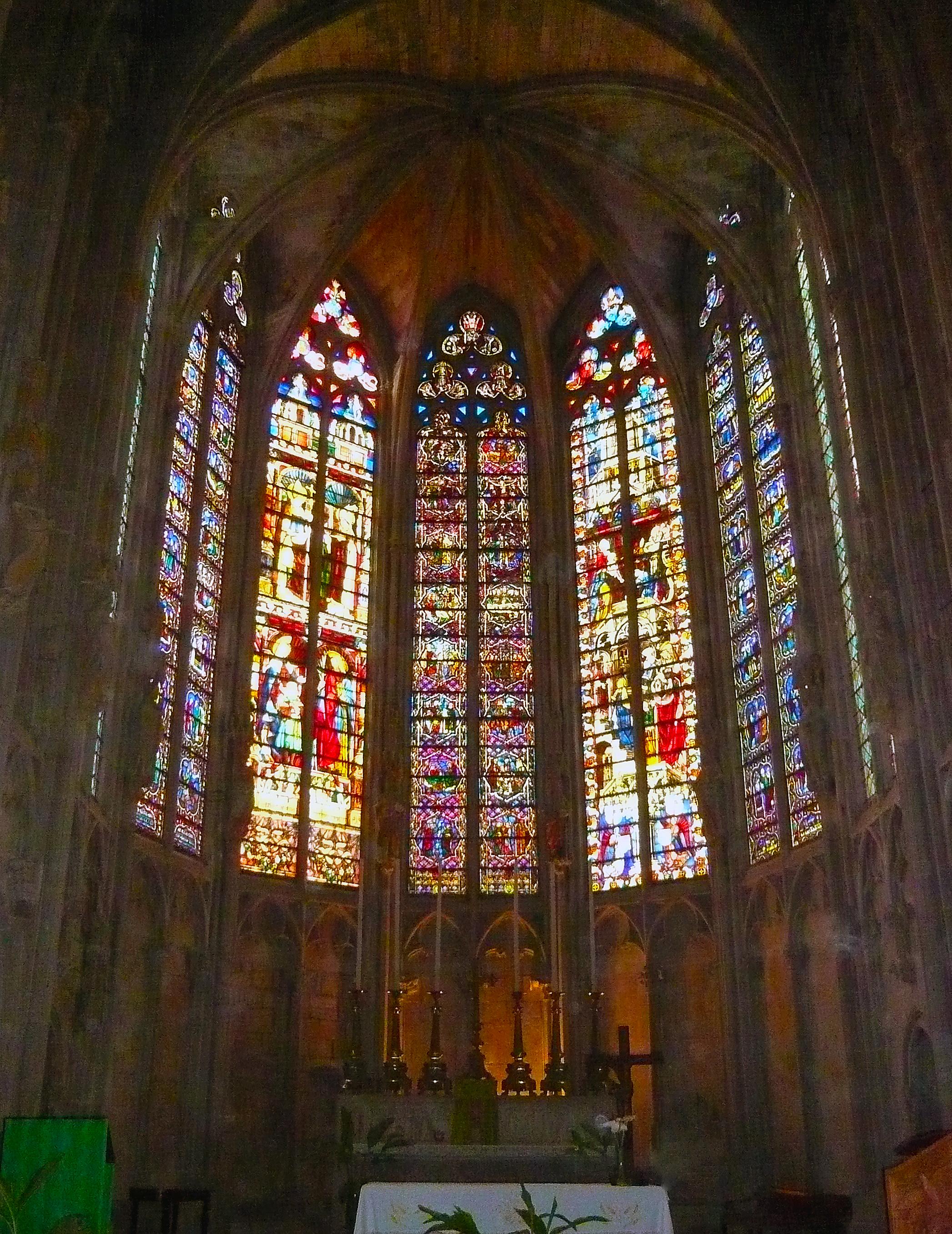 Vidrieras de la Basílica de San Nazario