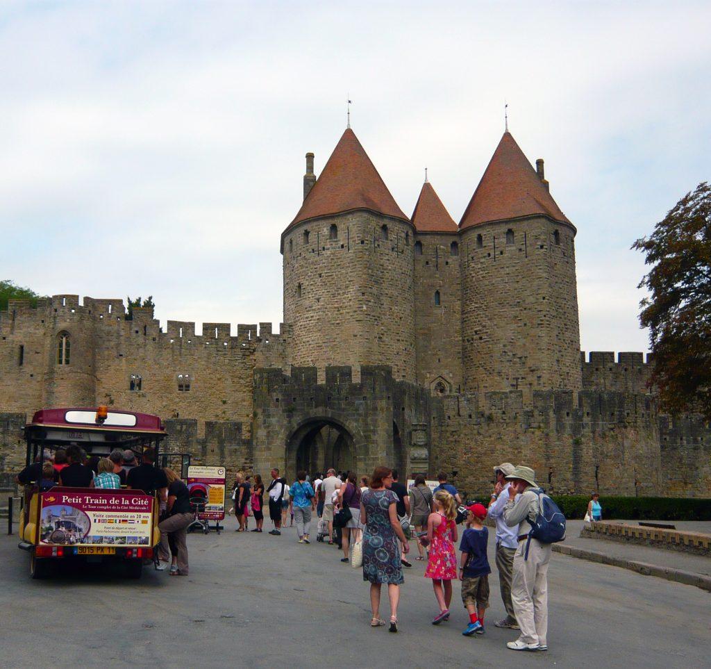 Puerta de Narbona - qué ver en Carcasona en un día