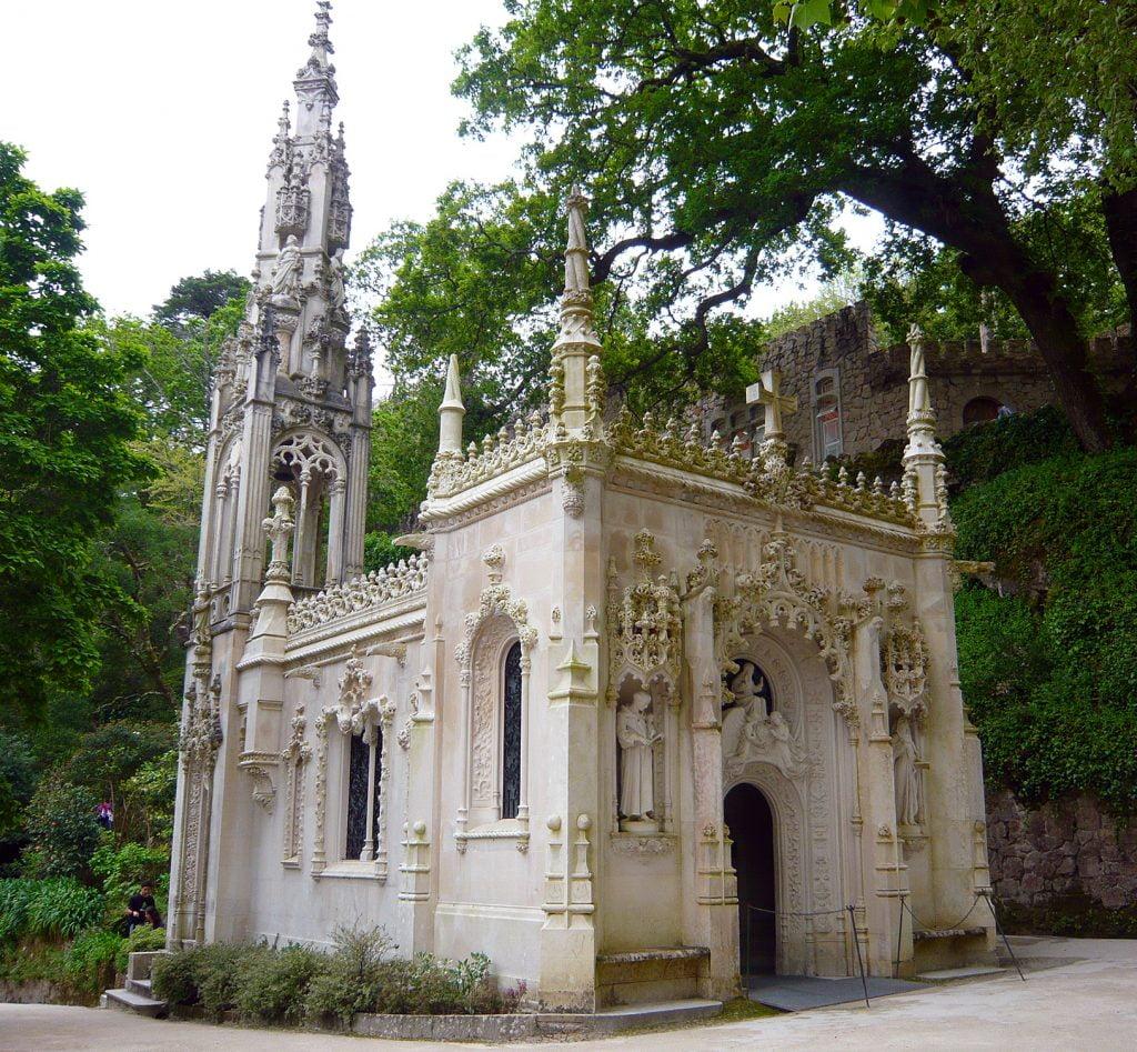Capilla de la Santísima Trinidad- visitar la Quinta da Regaleira