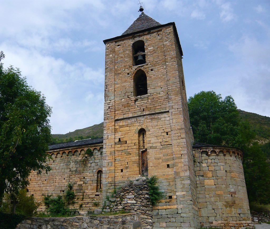 Iglesia de L´Assumpció de Coll - iglesias del Valle de Boí