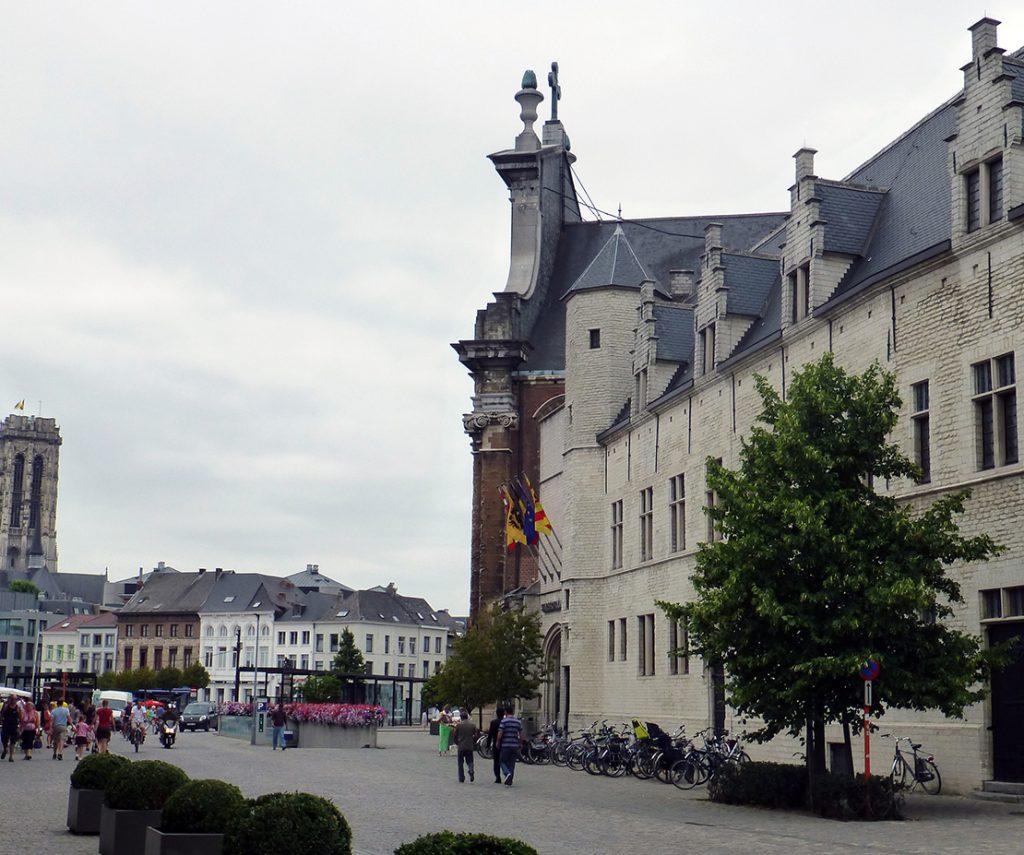Palacio de Margarita de York en Malinas, viaje a Bélgica