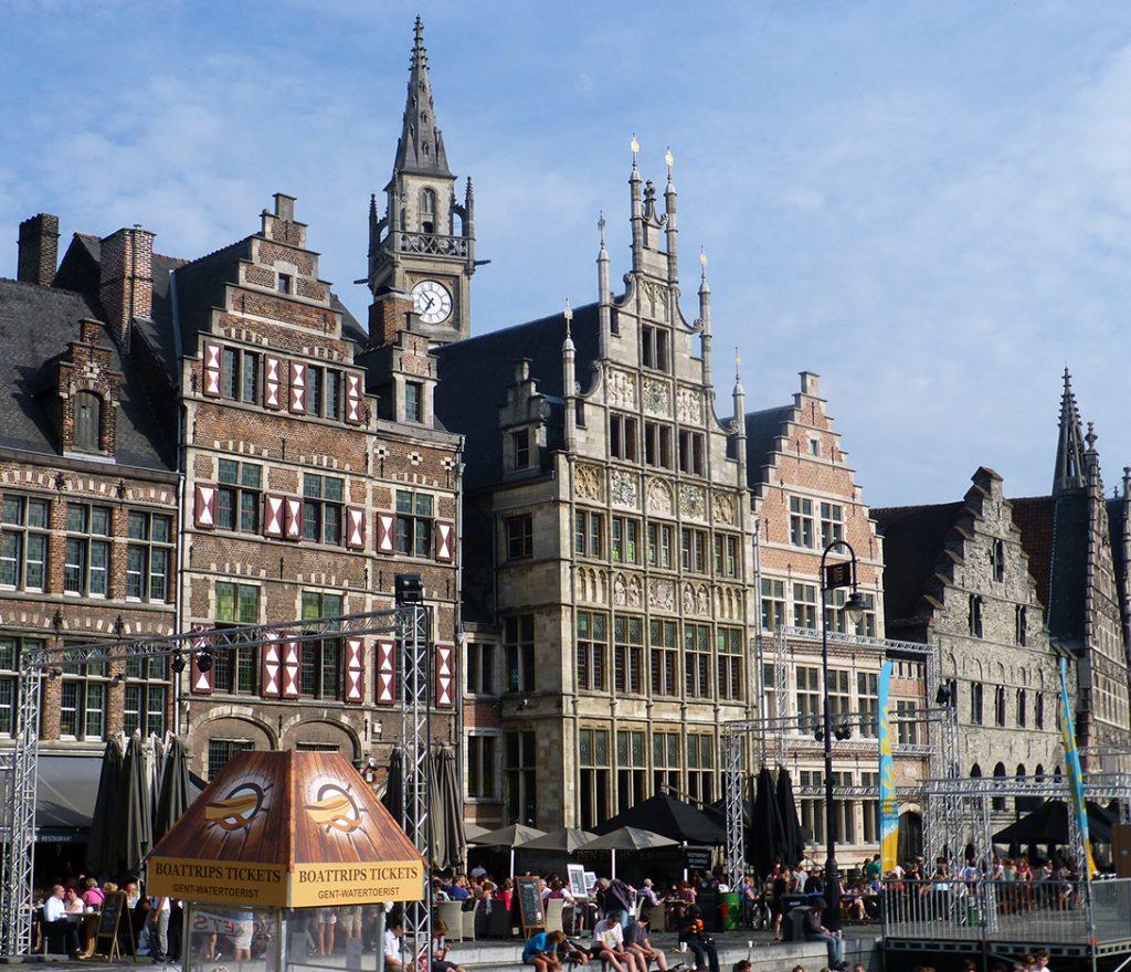 Muelles de Gante, una de las cosas que ver en tu viaje a Bélgica