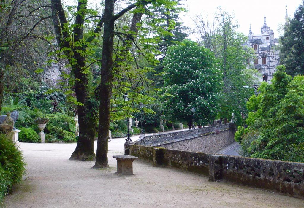 Paseo de los Dioses - visitar la Quinta da Regaleira