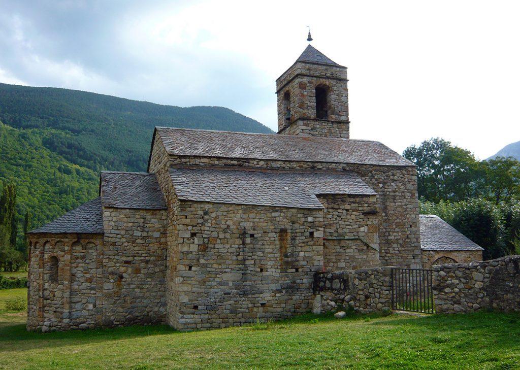 Iglesia de San Feliu de Barruera - iglesias del Valle de Boí