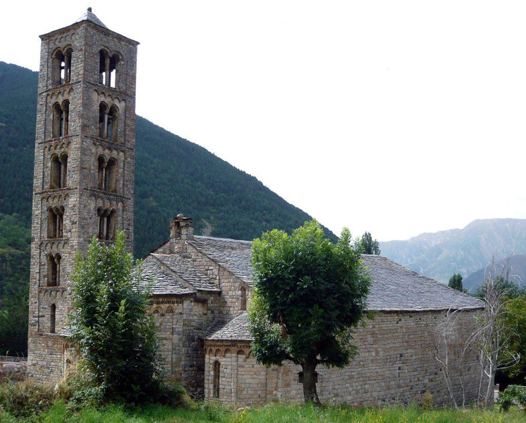 Iglesia de Sant Climent de Taüll - iglesias del Valle de Boí