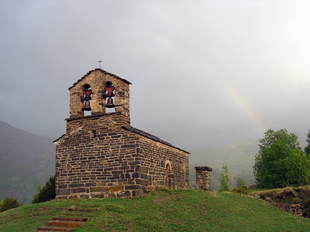 Ermita de Sant Quirc de Durro - iglesias del Valle de Boí