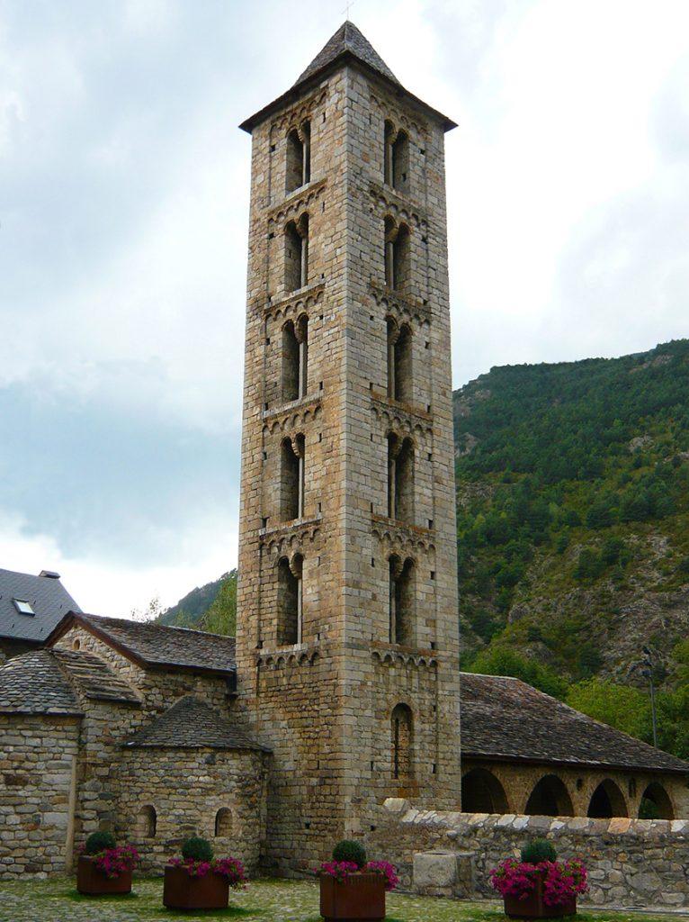 Iglesia de Santa Eulalia de Erill la Vall - iglesias del Valle de Boí