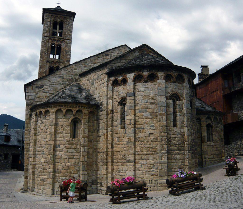 Iglesia de Santa María de Taüll - iglesias del Valle de Boí