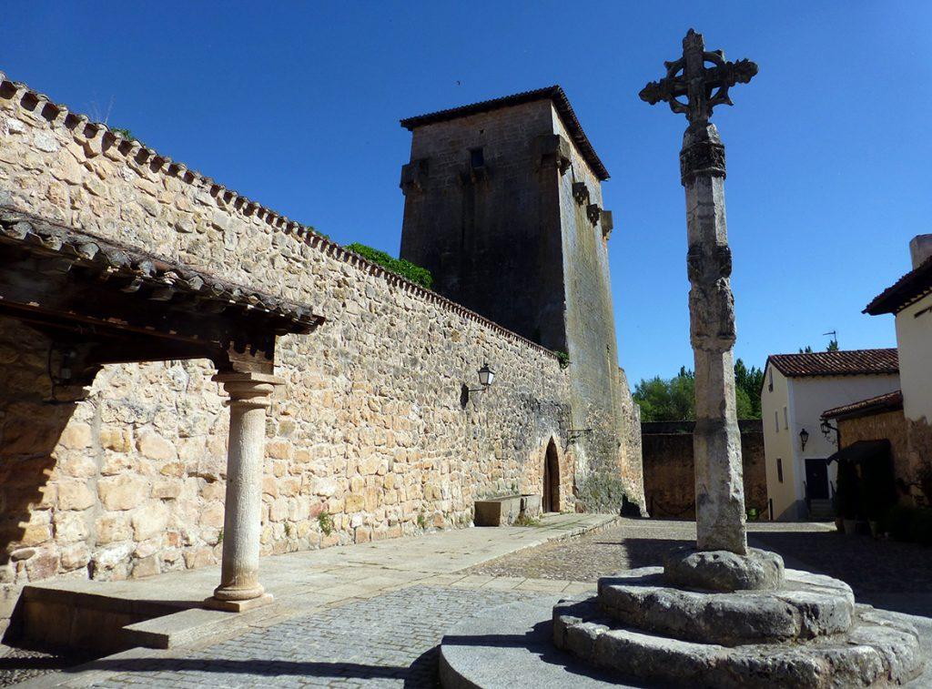 Torreón de Fernán González o de Doña Urraca en Covarrubias