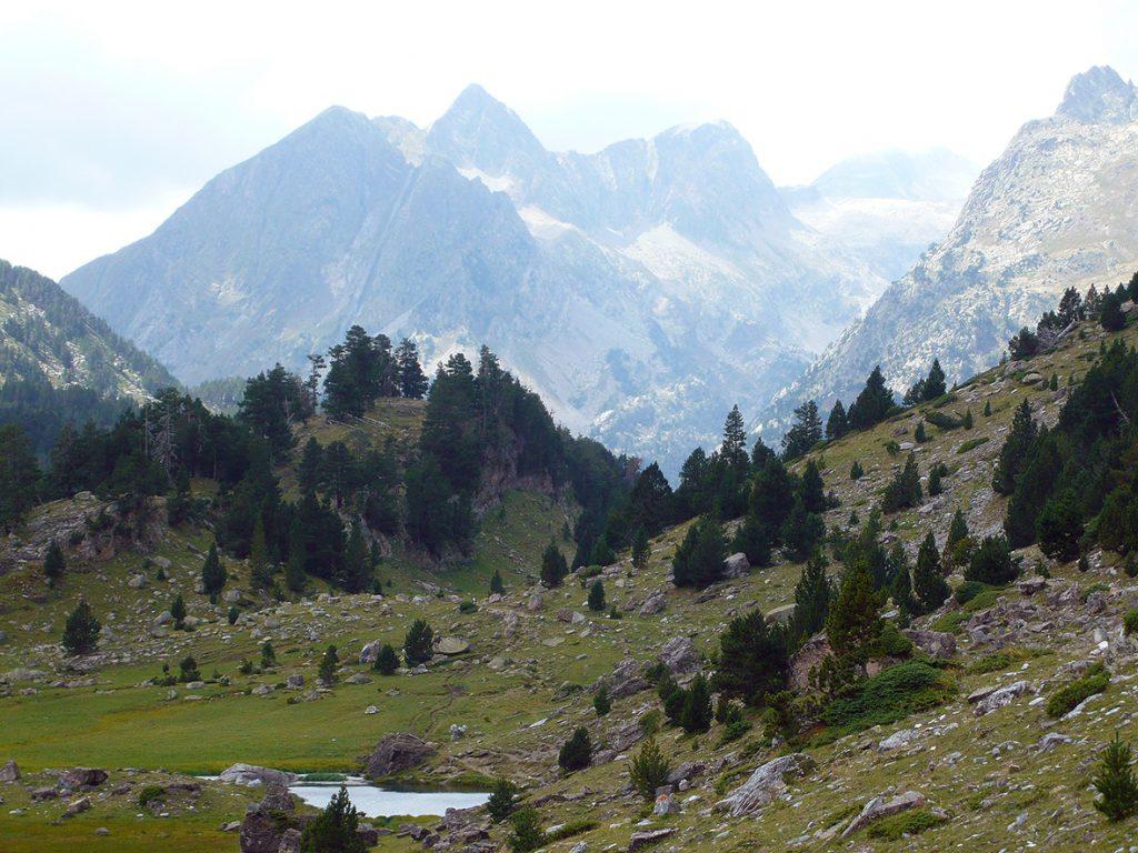 Los ibones son frecuentes en el Valle de Benasque