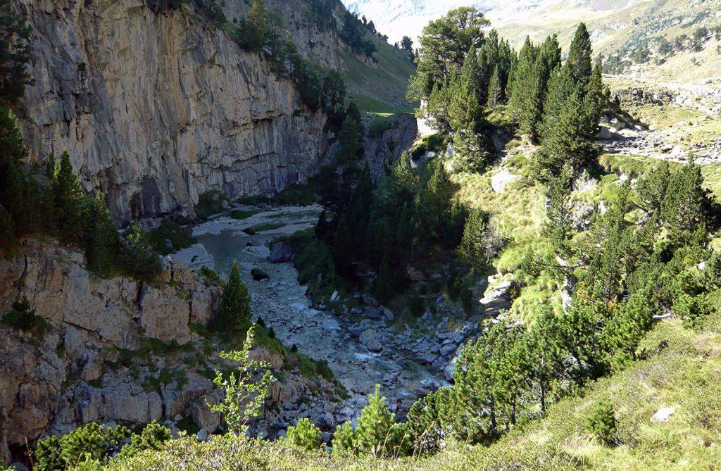 Forau d´Aigualluts, Valle de Benasque