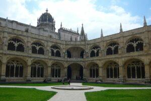 Claustro del Monasterio de los Jerónimos de Lisboa