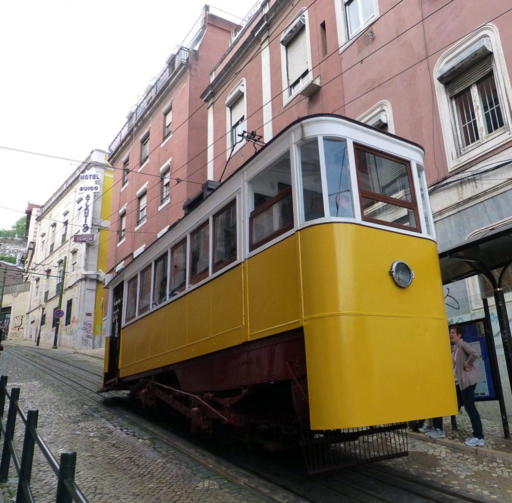 Elevador da Glória - Viaje a Lisboa