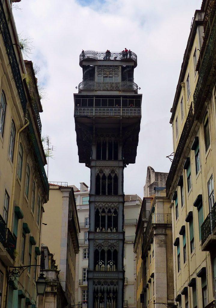 Elevador de Santa Justa - Viaje a Lisboa