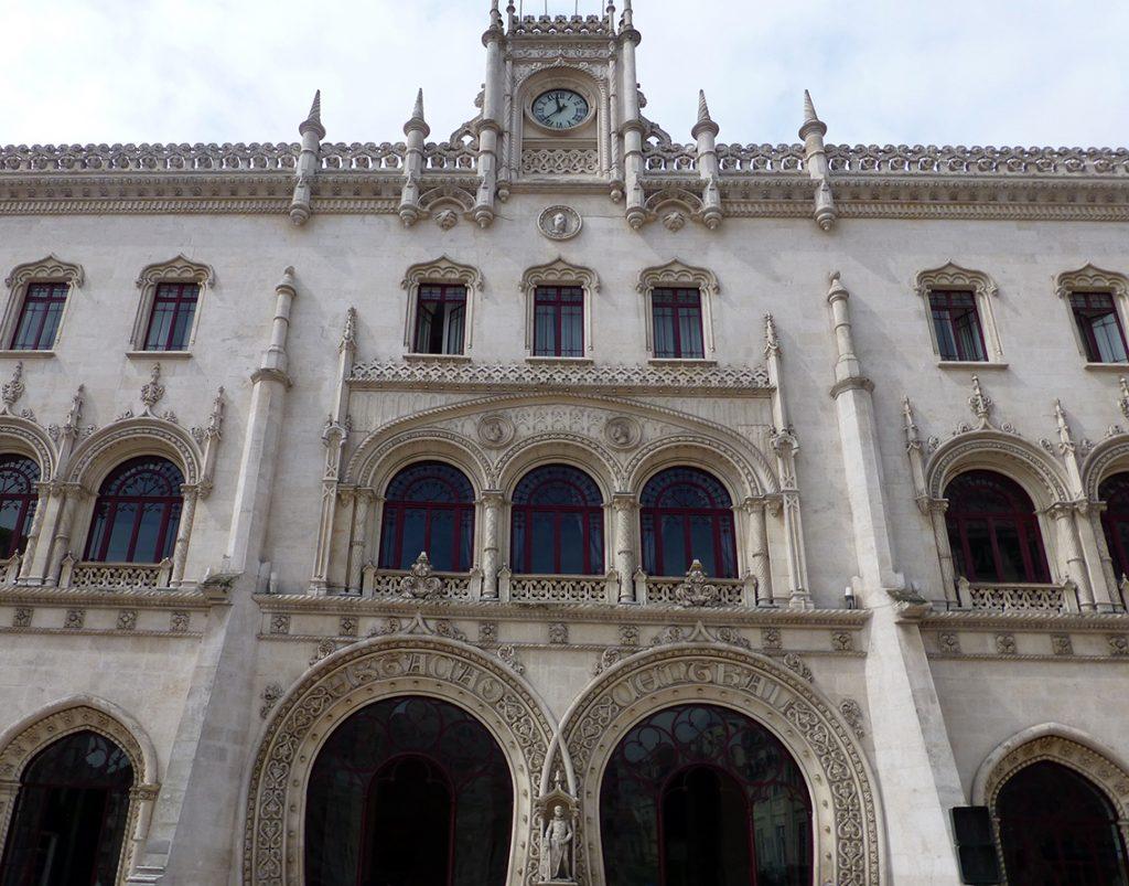 Estación de Rossio - Viaje a Lisboa