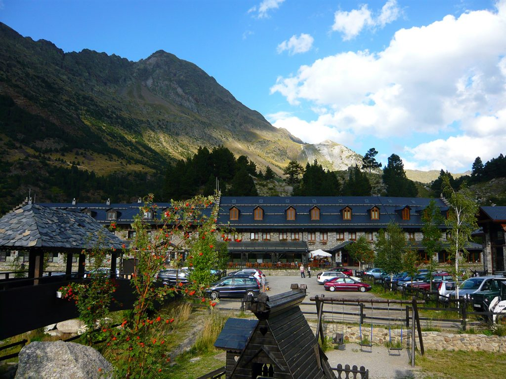 El Hospital de Benasque, en el Valle de Benasque