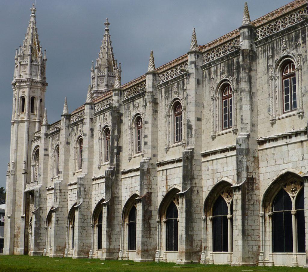 Antiguos aposentos de los monjes, hoy Museo Nacional de Arqueología - Monasterio de los Jerónimos de Lisboa