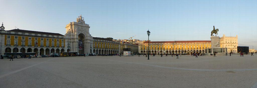 Plaza de Comercio - Viaje a Lisboa