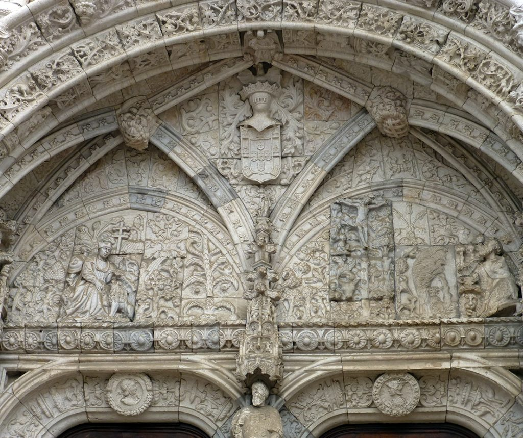 Tímpano del Portal Sur - Monasterio de los Jerónimos de Lisboa