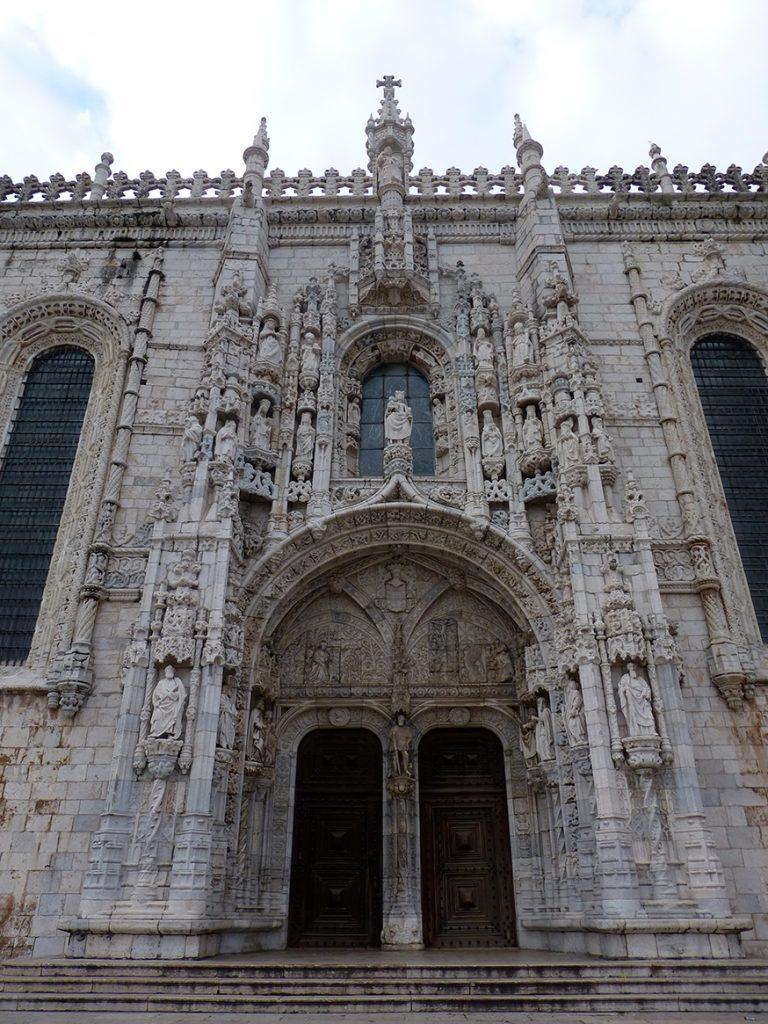 Portada Sur del Monasterio de los Jerónimos de Lisboa