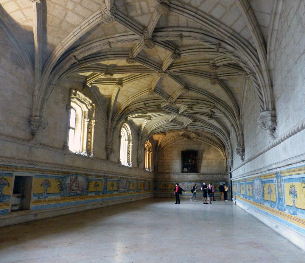 Refectorio del Monasterio de los Jerónimos de Lisboa