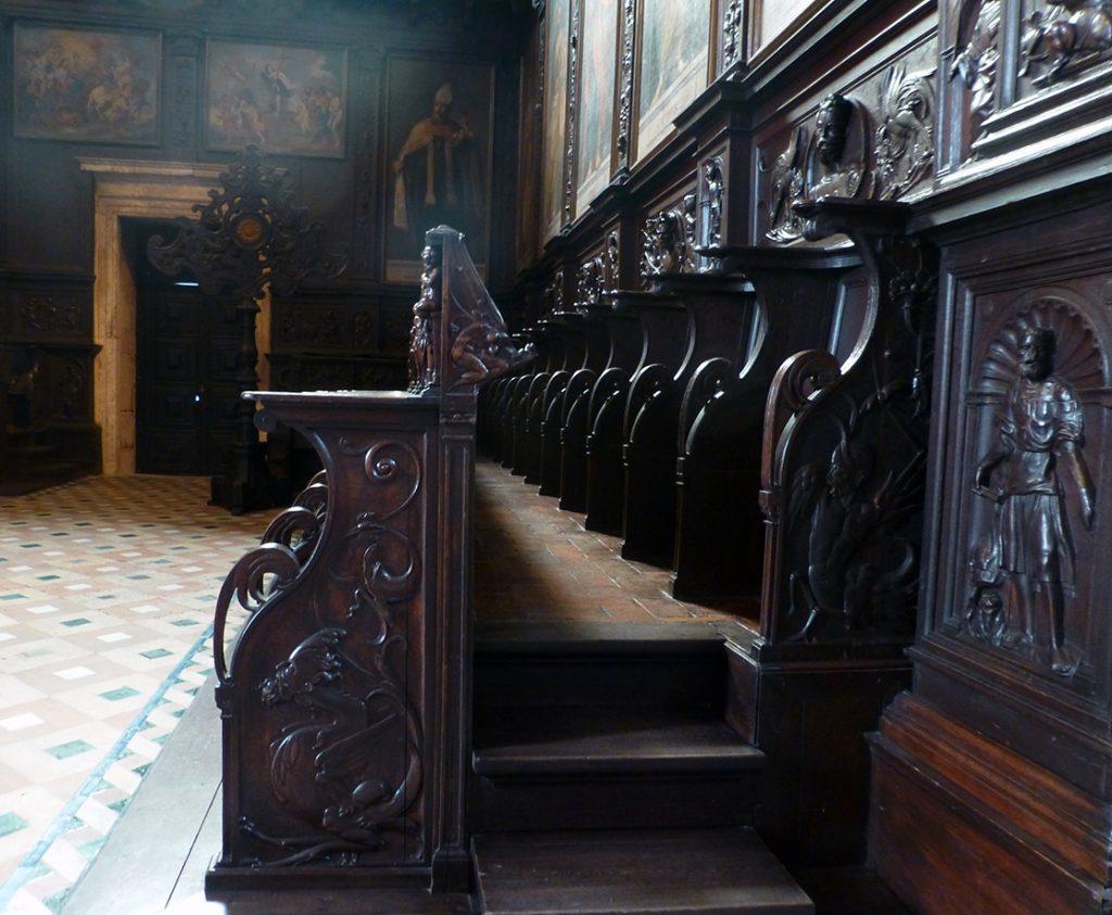 Sillería del coro alto del Monasterio de los Jerónimos de Lisboa