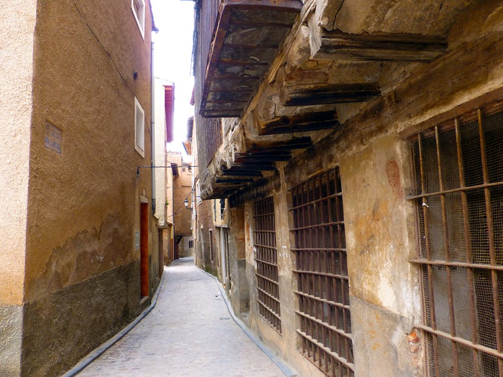 Barrio de la Morería de Daroca