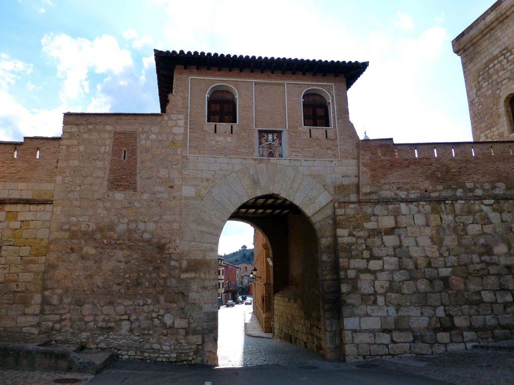 Puerta Alta en el exterior de la ciudad de Daroca