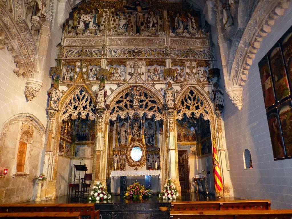 Retablo de la Capilla de los Sagrados Corporales de la iglesia de Santa María de Daroca
