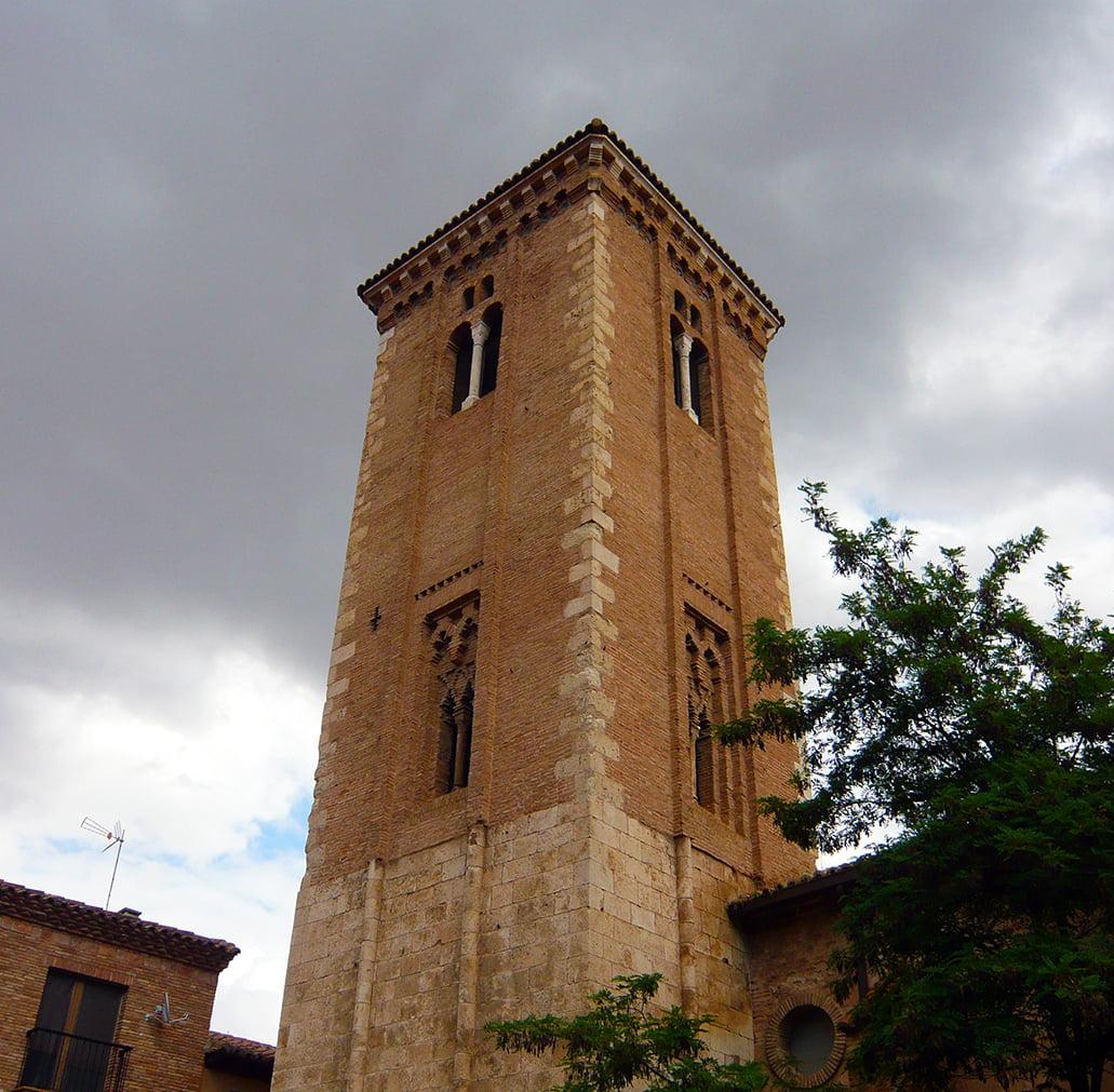 Torre mudéjar de la iglesia de Santo Domingo de Daroca