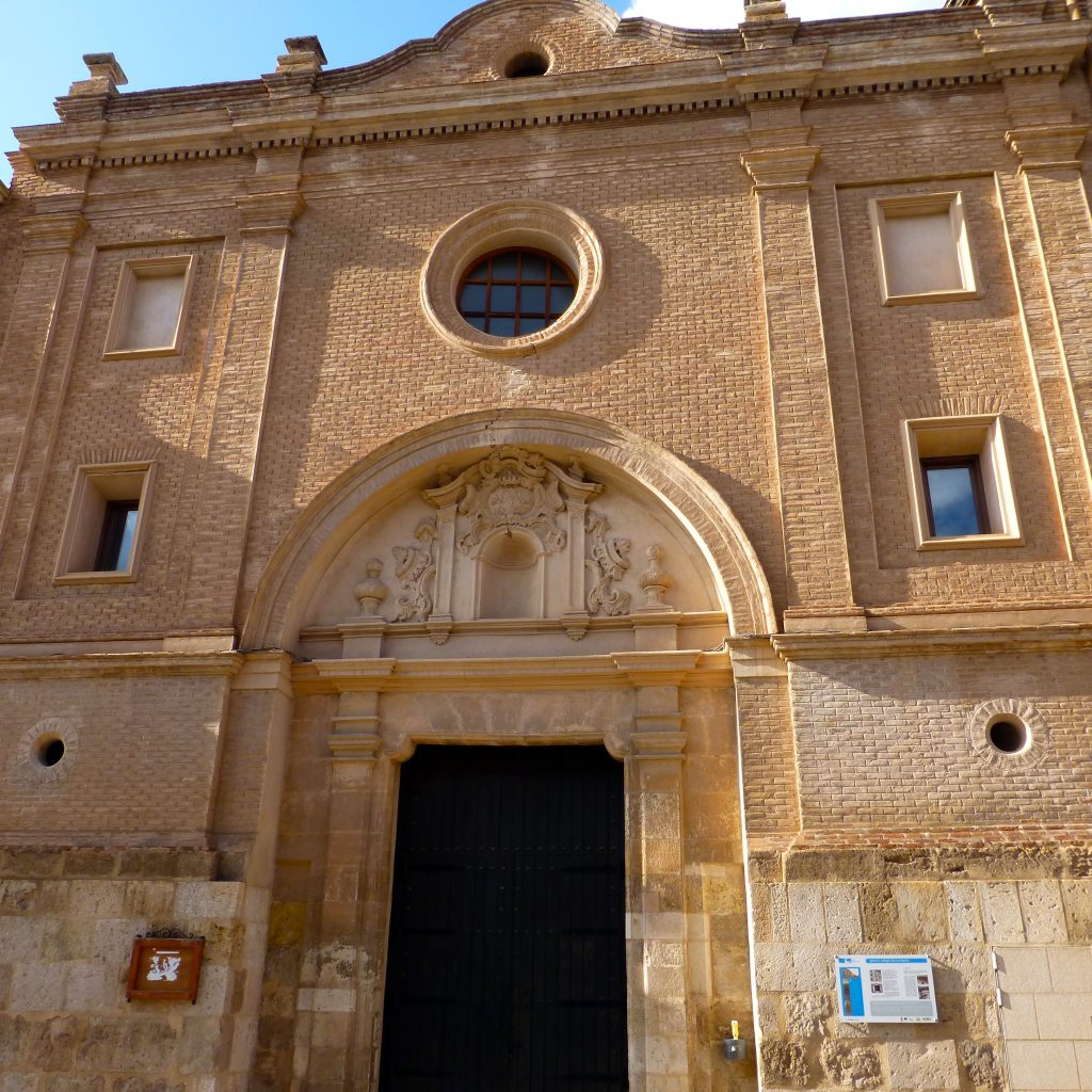 Portada de la iglesia de los Escolapios