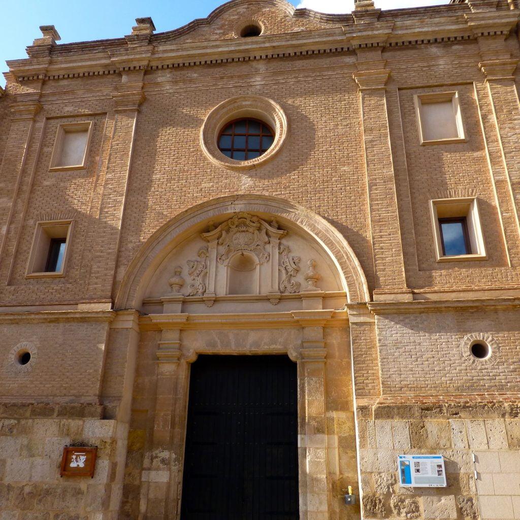 Portada de la iglesia de los Escolapios en Daroca