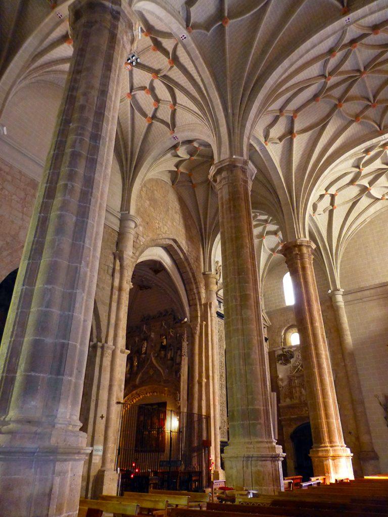 Interior de la iglesia de Santa María de los Sagrados Corporales de Daroca