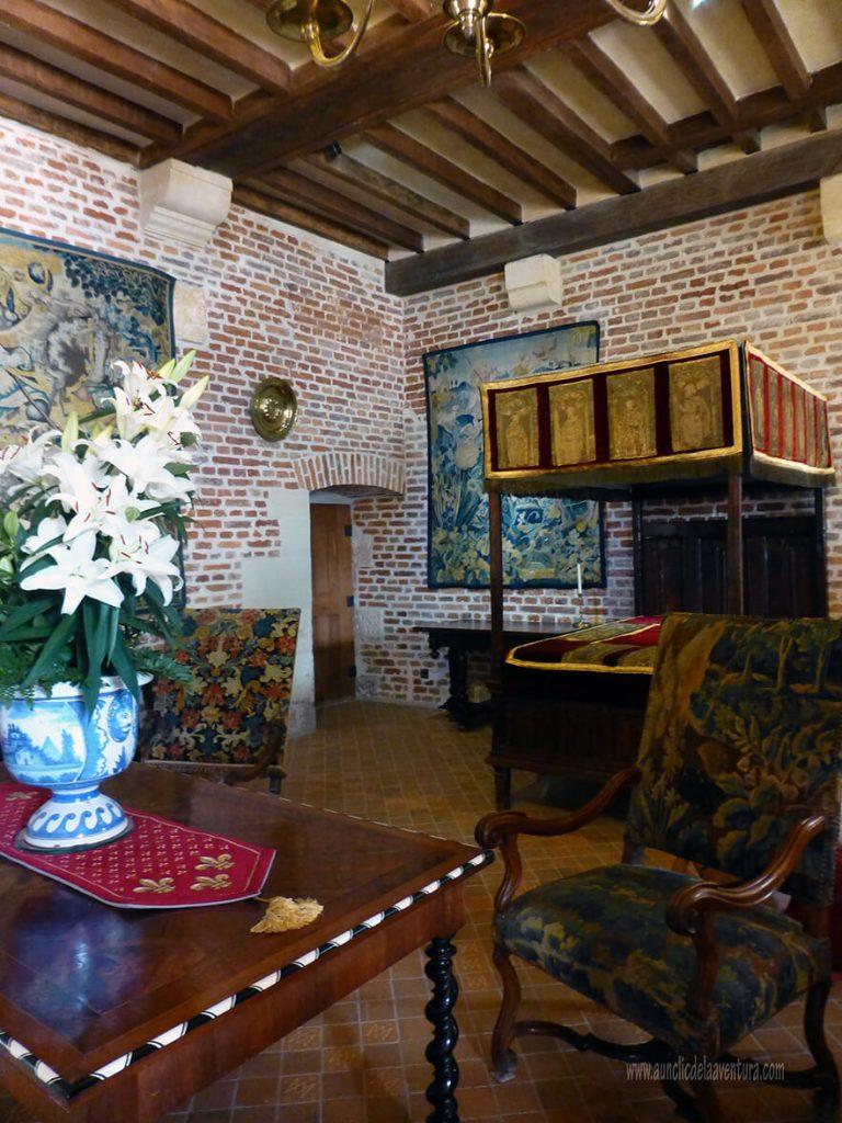 Cámara de Margarita de Navarra - Castillo de Clos Lucé