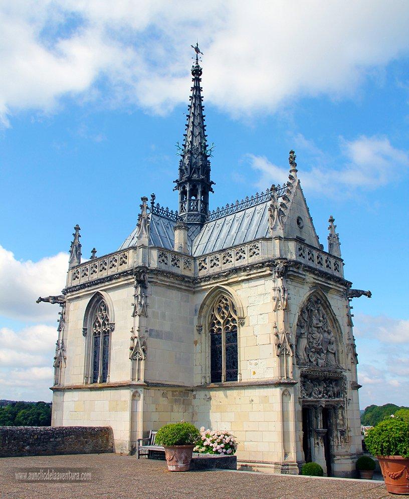 Capilla de San Huberto del Castillo Real de Amboise