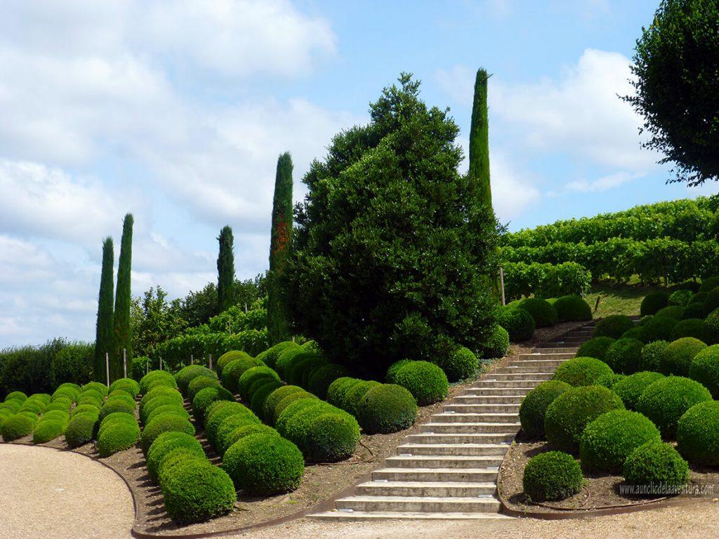 Jardines del Castillo Real de Amboise