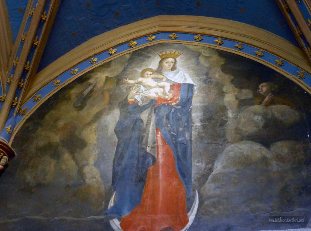 Virgen de la Luz - Castillo de Clos Lucé