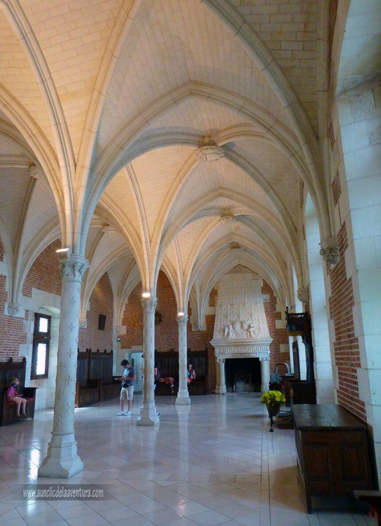 Sala del Consejo del Castillo Real de Amboise