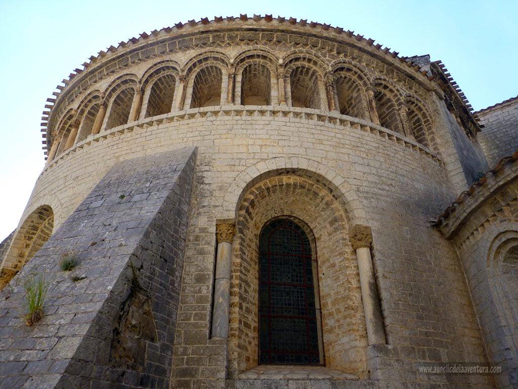Ábside de la Abadía de Gellone - que ver enSaint-Guilhem-le-Désert