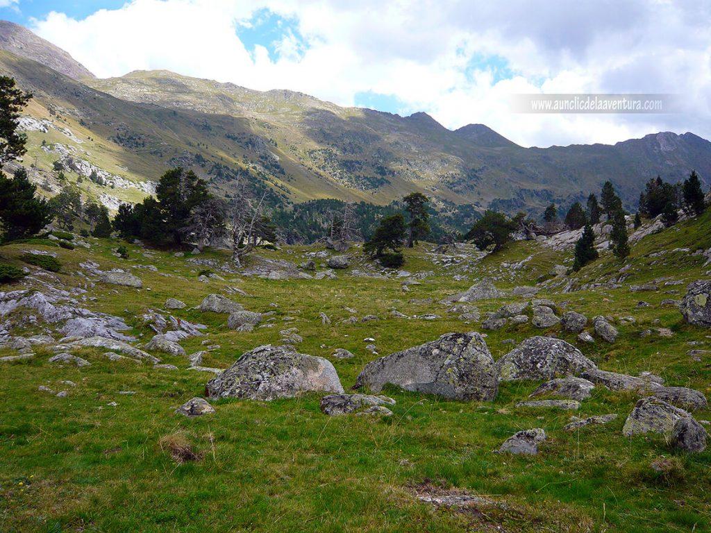 Colladeta dels Aranesos en la ruta al Forau d´Aigualluts