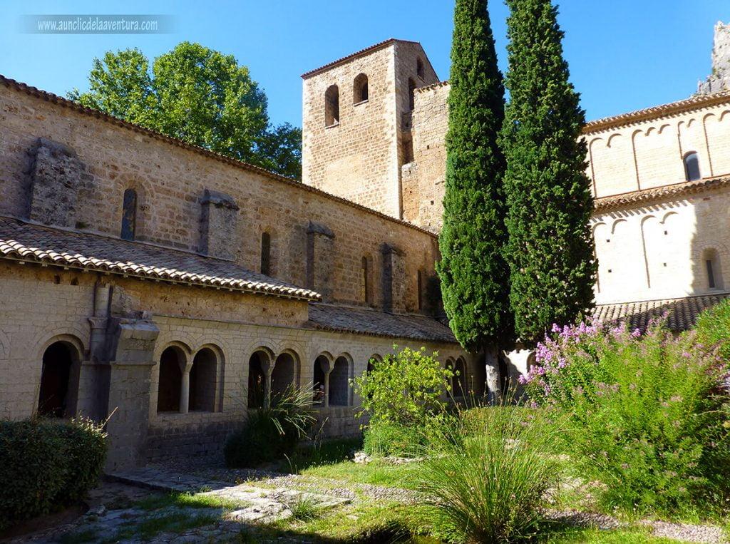 Claustro de la Abadía de Gellone - que ver enSaint-Guilhem-le-Désert